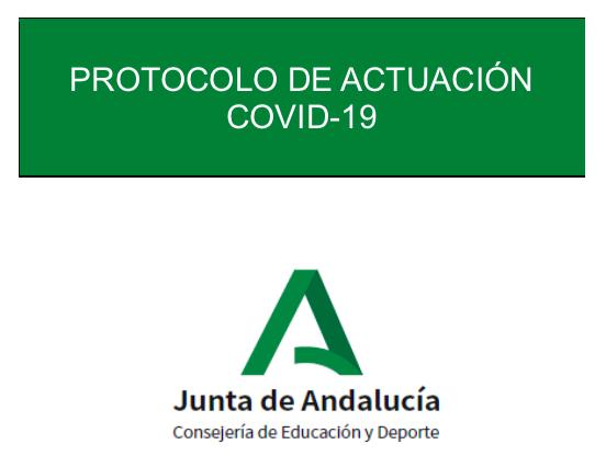 Resultado de imagen de protocolo covid andalucia